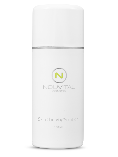 Nieuw product! Skin Clarifying solution.